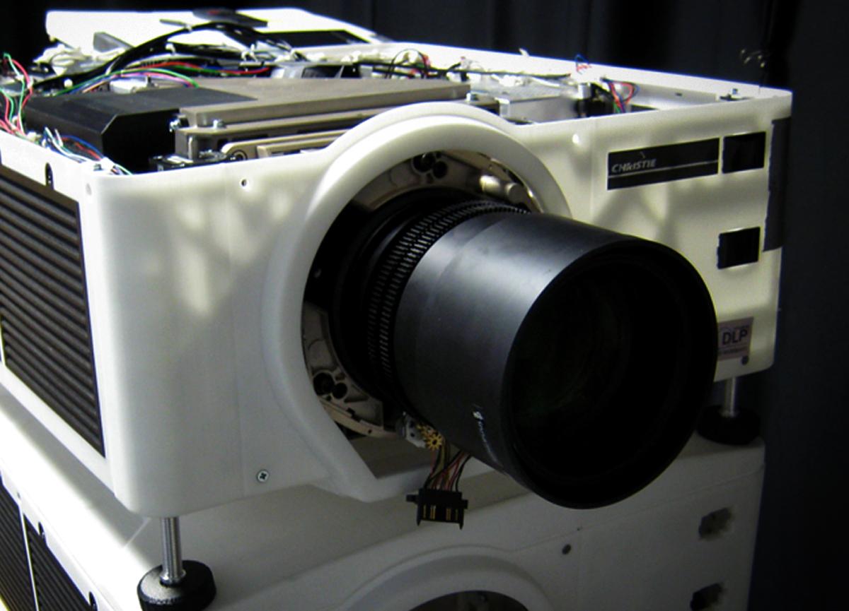 Bench-Model Prototype Camera